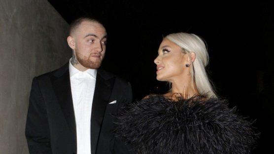 Mac Miller e Ariana Grande na festa pós Oscar da Madonna | Foto: Divulgação