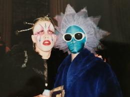 Waltpaper e Page em 1992 (Foto: Linda Simpson)